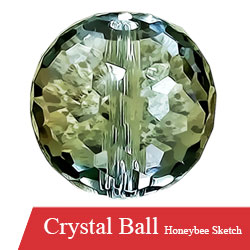 Crystal Ball for Stairs Available at Mehboob Steel Traders